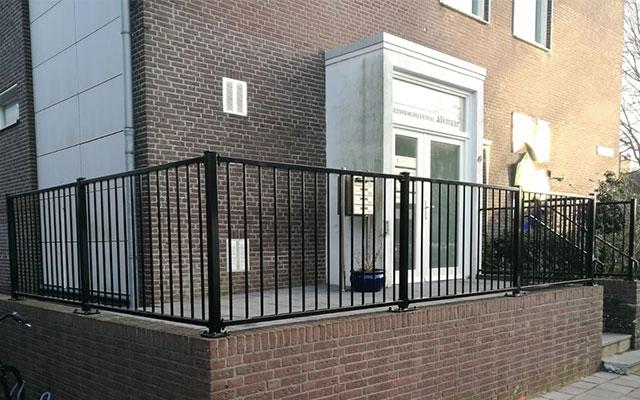 Balkonhekwerk, balkonhek, balustrade